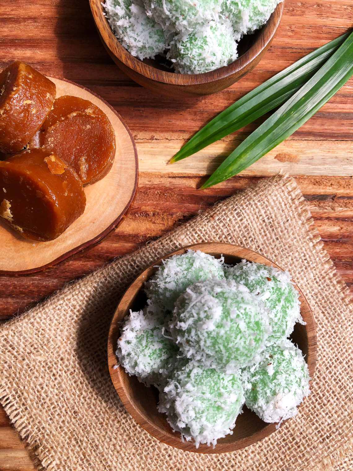 Klepon: Glutinous Rice Balls with Palm Sugar Filling ...